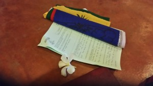 Prayer-flags at New Life Foundation