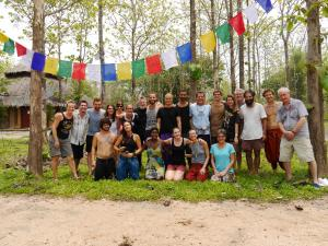 2017 April - Being Human Retreat at New Life Foundation - Thailand