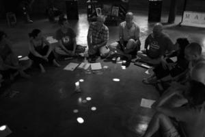 From Hungry Ghost to Being Human retreat at New Life Foundation with Vince Cullen - April 2018